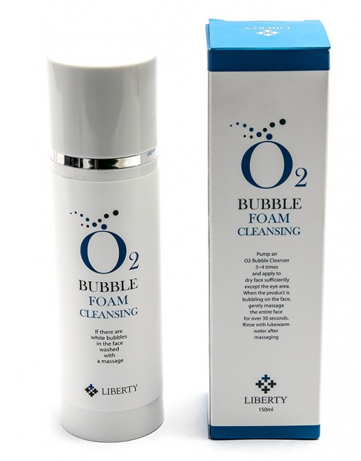 O2 Bubble Foam Cleansing