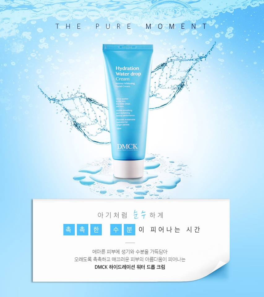 Hydration water drop cream